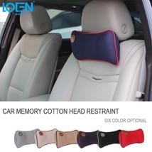 LOEN Car Memory Foam Car Neck Pillow Comfortable Pillow Car Seat Headrest  - $448,67 MXN