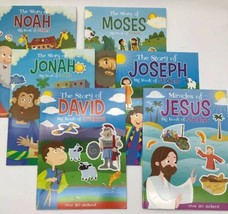Full Collection 6 Big Book of Stickers Children's Christian Bible Activi... - $35.15