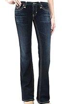 Big Star Women's New Hazel Jeans Mid Rise Boot in 1 Year Parocela (24L)