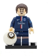 Custom Zlatan Ibrahimovic Minifigure Swedish Football Player fits Lego - $3.49