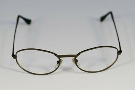 Fossil FIVE SPEED Matte Brown Metal Eyeglass Frames Designer Style Rx Eyewear - $9.12