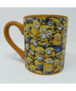 Despicable Me Cluttered Minions Yellow Coffee Cup Mug Tea EUC Universal ... - $9.46