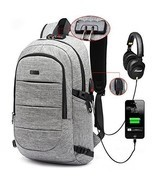 Waterproof Travel Backpack Business Laptop Backpack With USB For Men And... - £36.79 GBP