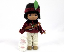 """Precious Moments Indian Family Running Bear Indian  7"""" Doll W/tag #1639 ... - $11.39"""