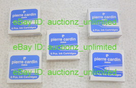 Pierre Cardin 30 Ink Cartridges Blue - Fits Pelikan, Montblanc Fountain ... - $9.99