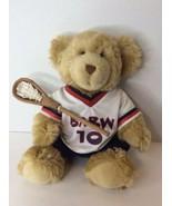 Build A Bear Plush Stuffed Animal Teddy Boys Lacrosse Crosse And Uniform... - $23.75