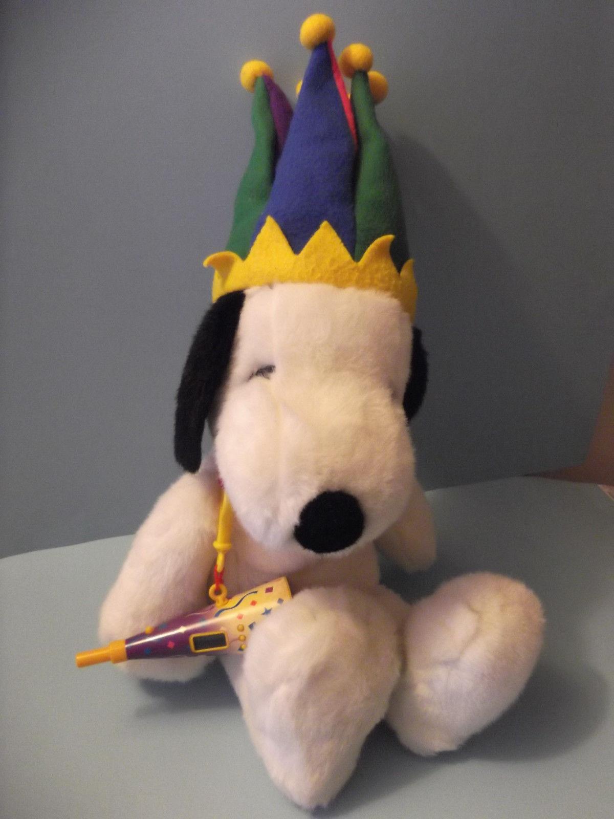 Snoopy Plush Stuffed Animal Macys Court And 15 Similar Items