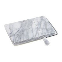 Marble Cheese Slicer,Danish Adjustable Cheese Board with Slicer,Marble Gray - $22.99