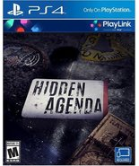 Hidden Agenda - PlayStation 4 [video game] - $8.78