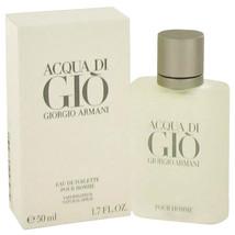 Acqua Di Gio Eau De Toilette Pour Homme 1.7 Fl Oz./50ml by Giorgio Armani - $50.00