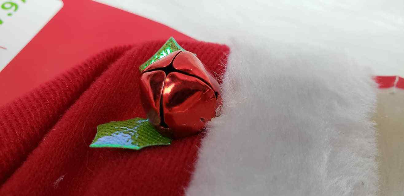 NEW ~ Holiday Time Dog Cat Red Santa Hat & Scarf image 2