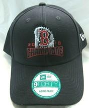 Boston Red Sox 2018 World Series Champions Black Hat Cap Adjustable New Era - $27.99