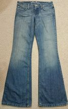 Juicy Couture Denim Jeans Low Rise Boot Cut Sz 28 x 34 NWOT image 3