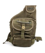 Trendy Apparel Shop Stylish Durable Multipurpose Canvas Sling Backpack -... - $59.99