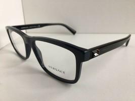 New Versace Mod. 5332 3052 55mm Gray Men's Eyeglasses Frame Italy #9 - $129.99
