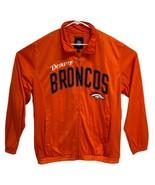 Denver Broncos NFL Men's G-lll Orange Full-Zip Graphic Track Jackets Siz... - $34.65