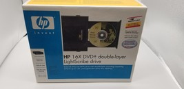 HP 16X DVD+- Double Layer LightScribe Drive Factory Sealed NEW DVD640E B... - $58.12