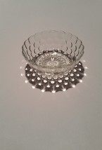 Anchor Hocking 4 inch Crystal Bubble Bowl Depre... - $5.00