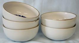 Dansk Herringbone Center Design Cereal Bowl set of 5 - $65.23