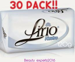 30 PACK!!  Lirio Neutral Bar Soap Daily Use120g/Jabon Neutro de Tocador ... - $39.59