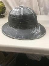 WWII Era USN Pith Helmet N-140 US Navy Military Black Safari Style vintage - $39.99