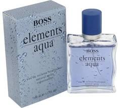 Hugo Boss Aqua Elements Cologne 3.4 Oz Eau De Toilette Spray  image 4