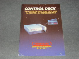 Nintendo NES: Control Deck System Console REV-2 [Instruction Book Manual ONLY] - $7.00