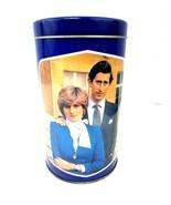 Vintage 1981 Tin of Royal Wedding Princess Diana & Prince Charles Rare C... - $32.71