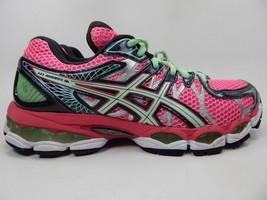 Asics Gel Nimbus 16 Size US 8.5 M (B) EU 40 Women's Running Shoes Pink T485N