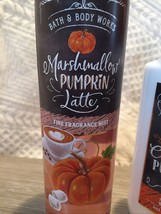 Bath & Body Works PUMPKIN Marshmallow Latte Fine  Fragrance Mist Spray 8... - $14.16