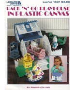 Pack 'N' Go Playhouse Plastic Canvas Rocking Chair High Chair Cradle Tee... - $12.95