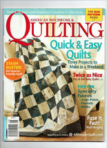 August 2009/American Patchwork & Quilting/Preowned Craft Magazine - $3.99