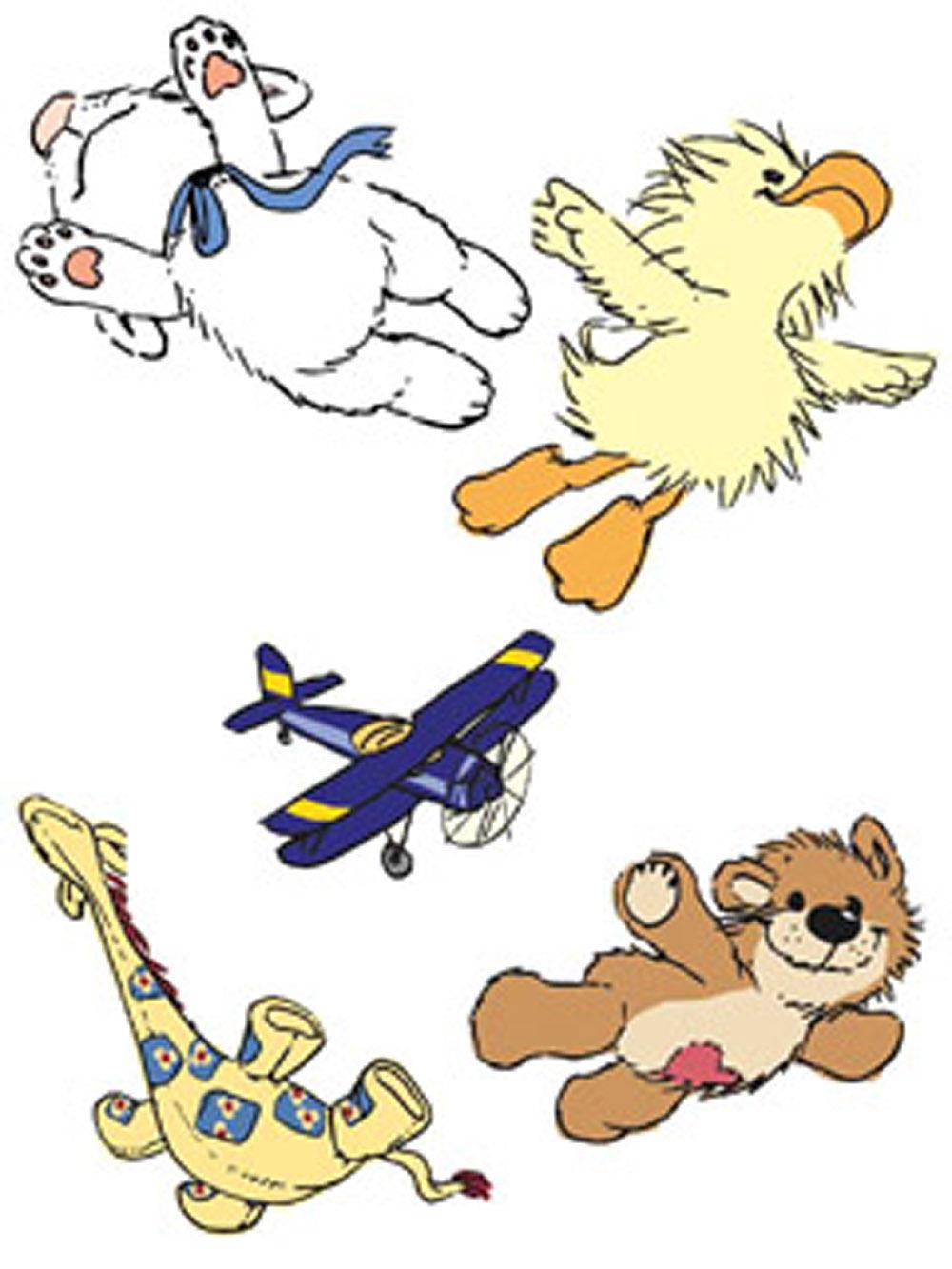 Wallies Wallpaper Cutouts Suzys Zoo Witzys Flight School