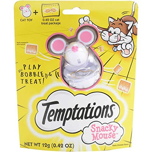 Primary image for DISCONTINUED: TEMPTATIONS SNACKY MOUSE Cat Toy for Cat Treats