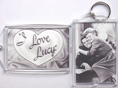I love lucy keychain to post lap