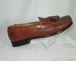 Cole Haan Shoes Size 7.5 Loafers Mens Brown Leather Tassels C06982 India  image 6
