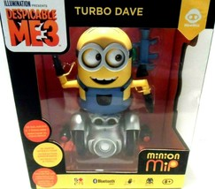 MIP Minion Turbo Dave Self Balancing Robot WowWee Bluetooth Despicable M... - $24.18