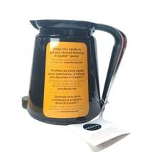 Keurig 2.0 Carafe Replacement Part NEW Black Chrome Coffee Pot - $14.75