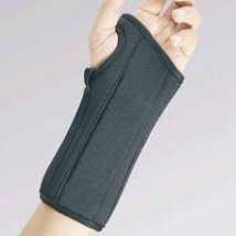 Fla 22-4511SBLK Wrist Splint for Left, Black, Extra Small by FLA - $19.59