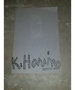 Rare K Haring Gallery 56 Bronze Cast Exhibiton Keith Haring 1990 Sam Hav... - $299.00