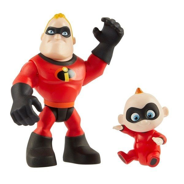 Disney Pixar Incredibles 2 Super Juniors Mr. Incredible and Jack-Jack 2 Pack