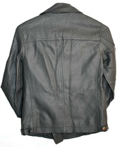 Forever 21 55879823 Dark Gray Faux Leather Motorcycle Biker Zipper Jacket Size S image 2