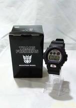 CASIO G-SHOCK DW-6900-FS Transformers Megatron Model wristwatch From Japan - $273.24