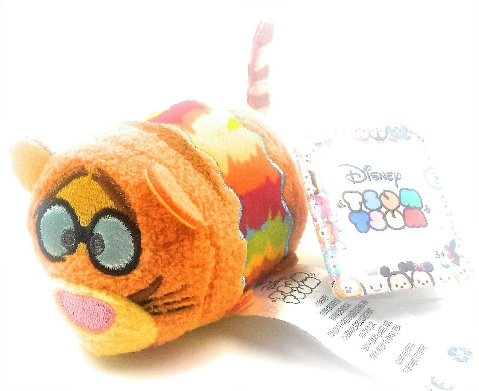 Disney Target Mini Tsum Tsum Groovy Pals Hippie Retro Flower Power Tigger Plush