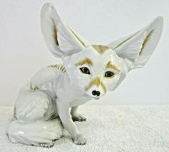 Augarten Wein, Austria Porcelain Fennec Fox Figurine Original 1926 Porze... - $891.00