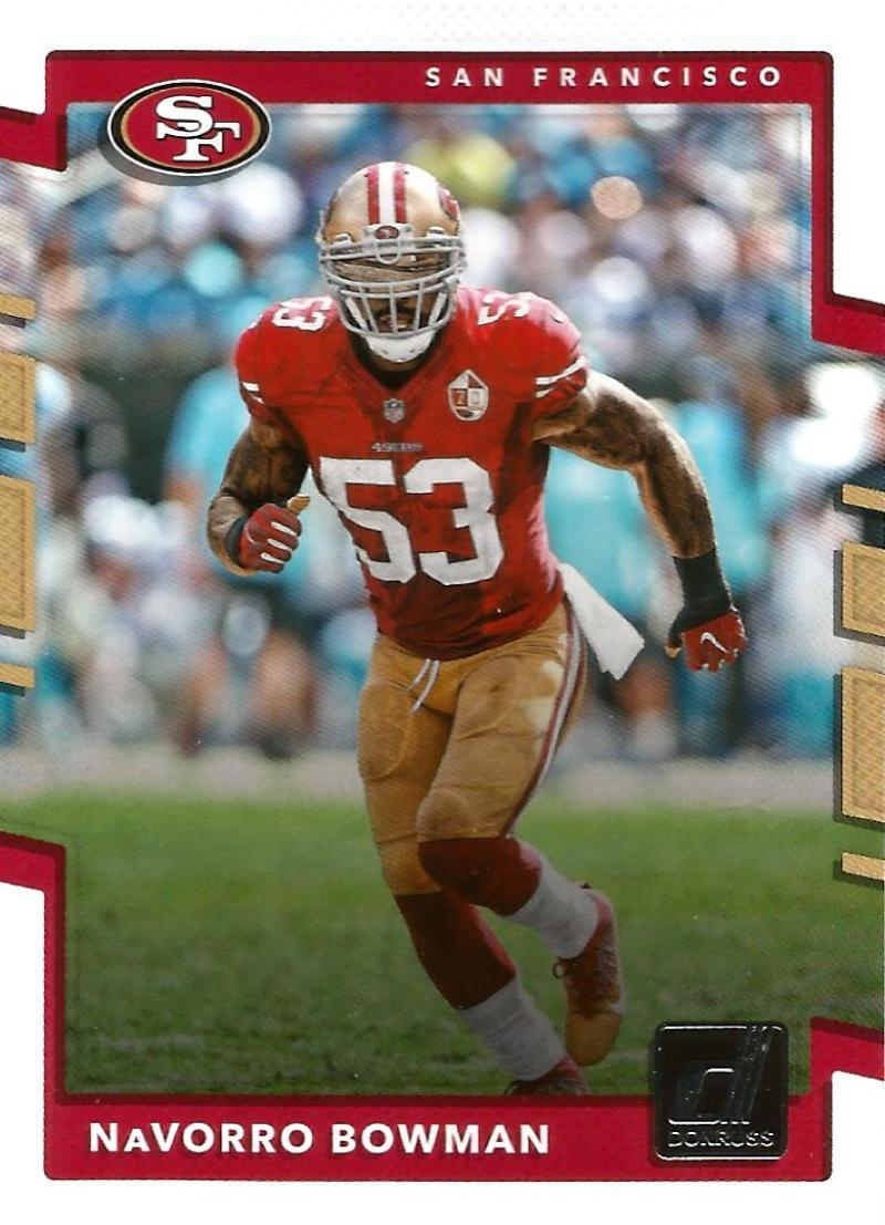 Primary image for 2017 Donruss #84 Navorro Bowman NM-MT 49ers
