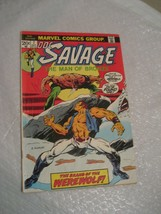DOC SAVAGE the man of bronze #7 F-VF cond marvel comic book 1973 - $8.99