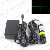 532nm 30mW Green Cross Laser Diode Module Locator for Cutting Machine +a... - $31.77