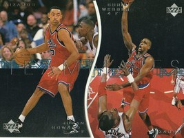 1997-98 Upper Deck Teammates Juwan Howard/Chris Webber (2 Card Set) Wizards! - $1.49