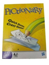 Pictionary The Game Of Quick Draw Quick Sketches and Crazy Guesses Adult H3 - $11.87